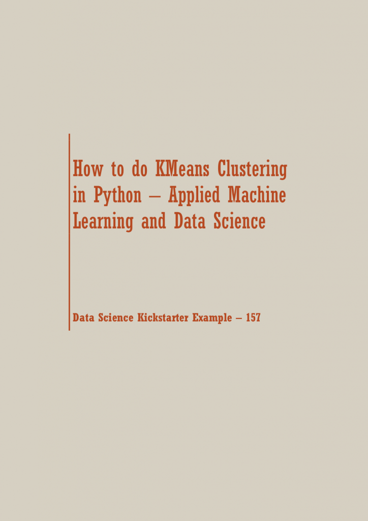 KMeans Clustering in Python | Data Science Recipes